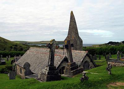 Photograph - Church Of St. Enodoc by Kurt Van Wagner