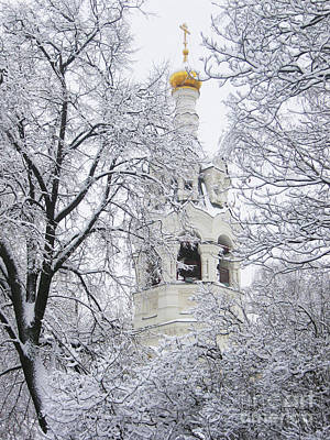 Photograph - Church Of St. Ilya In Winter, Moscow by Irina Afonskaya