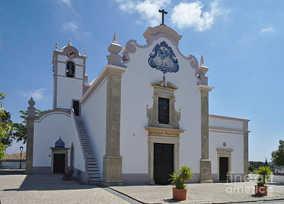 Church Photograph - Church Of St. Lawrence Of Rome In Algarve by Angelo DeVal