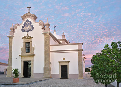 Christianity Photograph - Church Of St. Lawrence Of Rome In Algarve. Portugal by Angelo DeVal