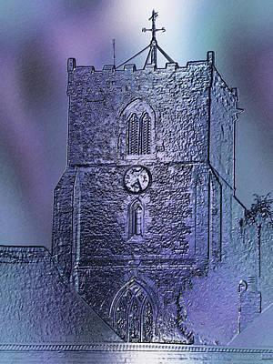 Photograph - Church Of St Mary The Virgin At Upavon by Richard Thomas
