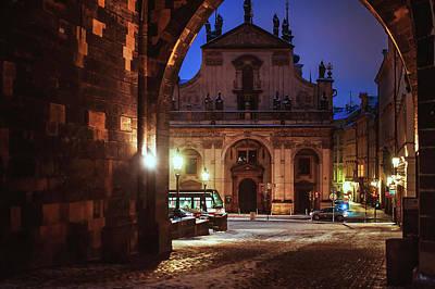 Photograph - Church Of St. Salvador. Prague by Jenny Rainbow