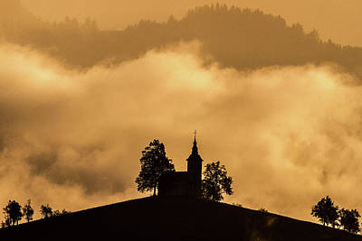Photograph - Church Of St. Thomas #2 - Slovenia by Stuart Litoff