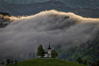 Photograph - Church Of St. Thomas - Slovenia by Stuart Litoff