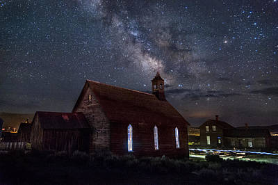 Photograph - Church Of Stars by Cat Connor