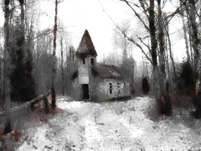 Digital Art - Church Of The Abandoned by Mario Carini