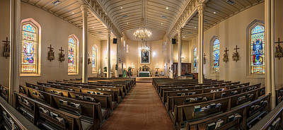 Photograph - Church Of The Assumption Of The Blessed Virgin Pano 2 by Andy Crawford