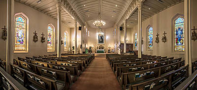 Photograph - Church Of The Assumption Of The Blessed Virgin Pano by Andy Crawford