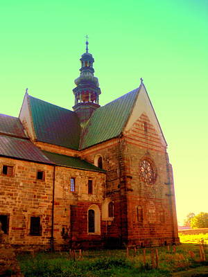 Photograph - Church Of The Blessed Virgin Mary And St. Florian In The Wachock by Henryk Gorecki