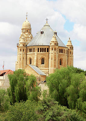 Photograph - Church Of The Dormition by Munir Alawi