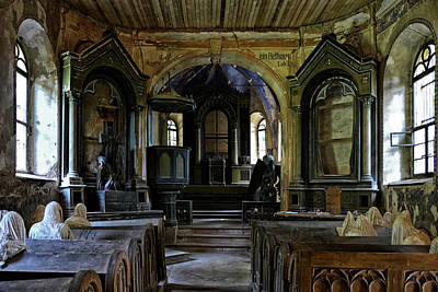 Cloister Photograph - Church Of The Ghosts by Joachim G Pinkawa
