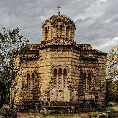 Church Of The Holy Apostles Art Print