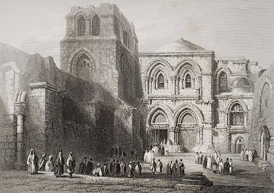 Church Of The Holy Sepulchre Art Print
