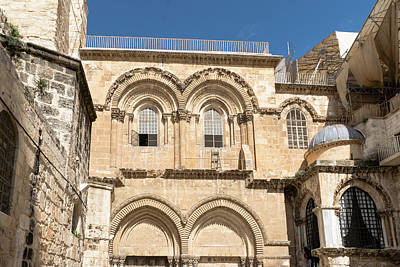 Photograph - Church Of The Holy Sepulchre by Steven Richman