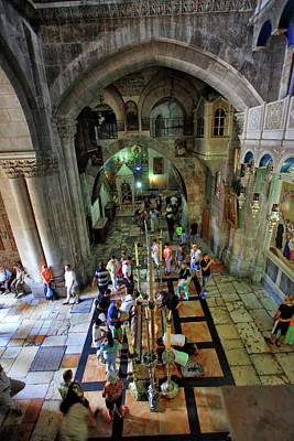 Church Of The Holy Sepulchre Original by Zoriy Fine