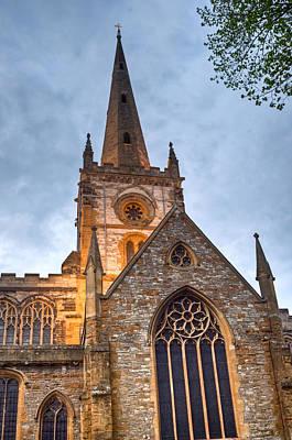 Church Of The Holy Trinity Stratford Upon Avon 2 Print by Douglas Barnett