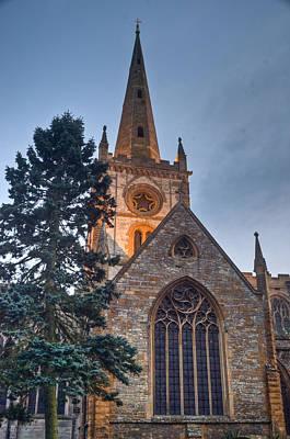 Church Of The Holy Trinity Stratford Upon Avon 4 Print by Douglas Barnett