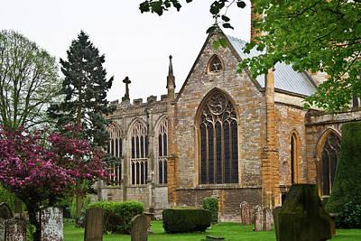 Stratford Photograph - Church Of The Holy Trinity Stratford Upon Avon 6 by Douglas Barnett