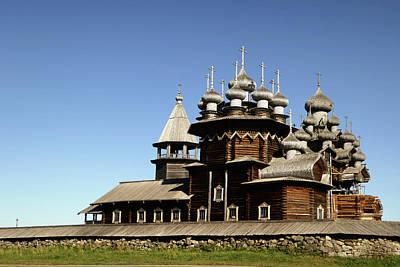 Linda Dunn Photograph - Church Of The Transfiguration Kizhi Russia by Linda Dunn