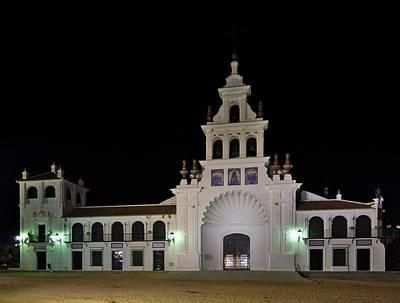 Photograph - Church Of The Virgen Del Rocio. Spain by Angelo DeVal