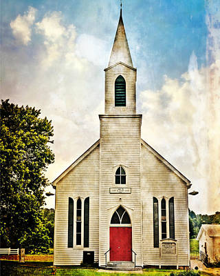 Photograph - Church On 8 by Marty Koch