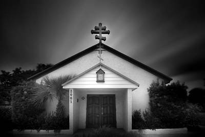 Photograph - Church On A Cloudy Day by Mark Andrew Thomas