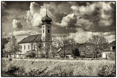 Photograph - Church On The Danube Near Regensburg 7r2_dsc7330_05072017 by Greg Kluempers