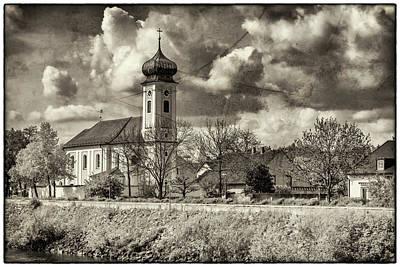 Photograph - Church On The Danube Near Regensburg 7r2_dsc7330_05072017 by Greg Kluempers