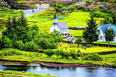 Photograph - Church On The Green by Rick Bragan