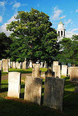 Church On The Hill Photograph - Church On The Hill by James Kirkikis
