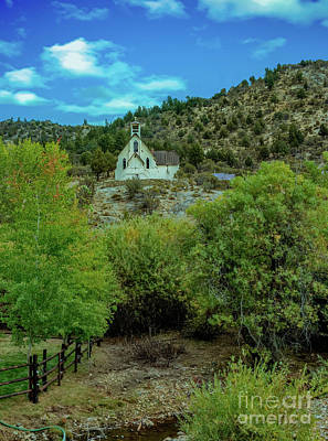 Jordan Photograph - Church On The Hill by Robert Bales