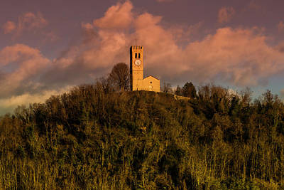 Church On The Hill Photograph - Church On The Hill by Wolfgang Stocker
