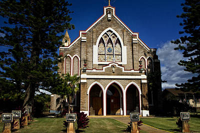 Photograph - Church Paia, Maui by Waterdancer