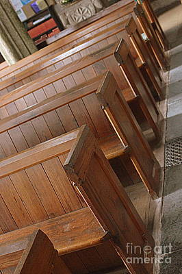 Photograph - Church Pews by Andy Thompson