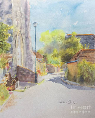 Painting - Church Road - Hythe Kent - England by Beatrice Cloake