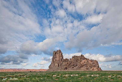 Photograph - Church Rock by Jeff Goulden