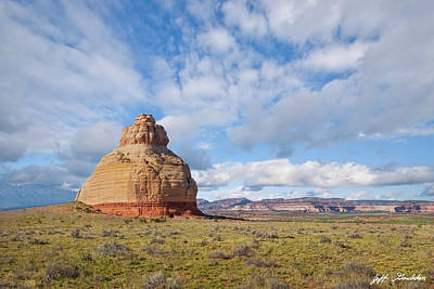 Photograph - Church Rock Utah by Jeff Goulden