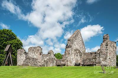 Photograph - Church Ruin At Rya by Antony McAulay