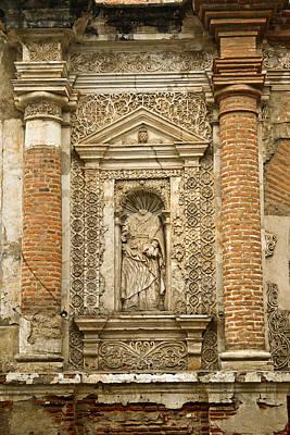 Caravaggio - Church Ruins Antigua Guatemala 1 by Douglas Barnett