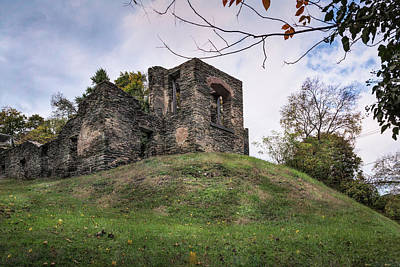 Photograph - Church Ruins by John M Bailey