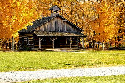 Terre Haute Indiana Photograph - Church School 1 by Franklin Conour