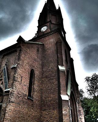 Crusifix Photograph - Church by Smidis