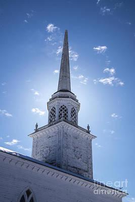 Photograph - Church Steeple  by Alana Ranney
