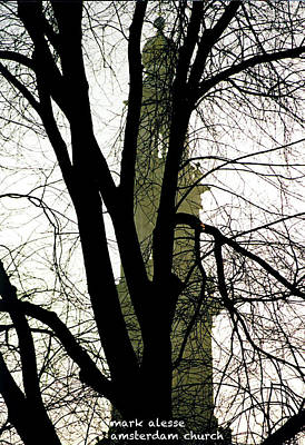 Photograph - Church Steeple by Mark Alesse