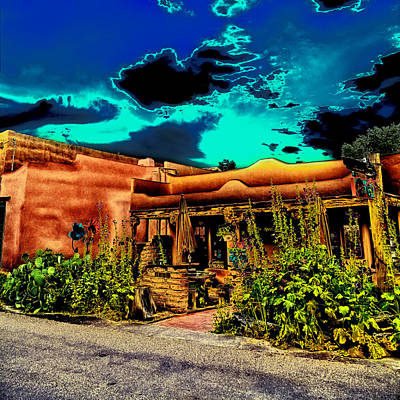 Photograph - Church Street Cafe - Albuquerque by David Patterson