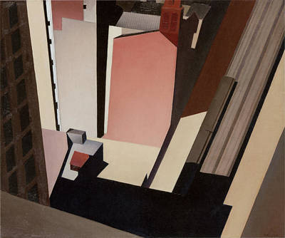 Photograph - Church Street El New York by Charles Sheeler