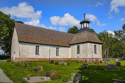 Photograph - Church Teda Sw by Leif Sohlman