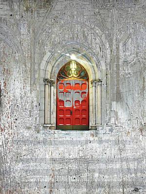 Mixed Media - Church by Tony Rubino