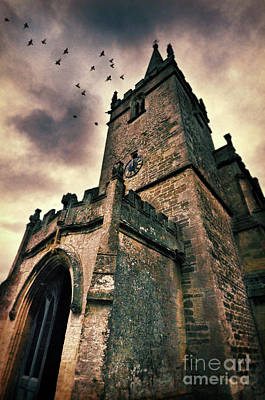 Photograph - Church Tower by Jill Battaglia