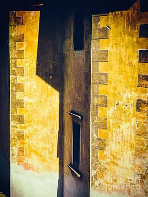 Photograph - Church Wall Detail by Silvia Ganora